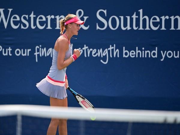 French tennis player Kristina Mladenovic. (Photo/ Kristina Mladenovic Twitter)