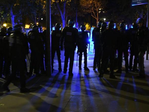 Paris police after the Champions League final (Photo/ Prefecture de Police Twitter)