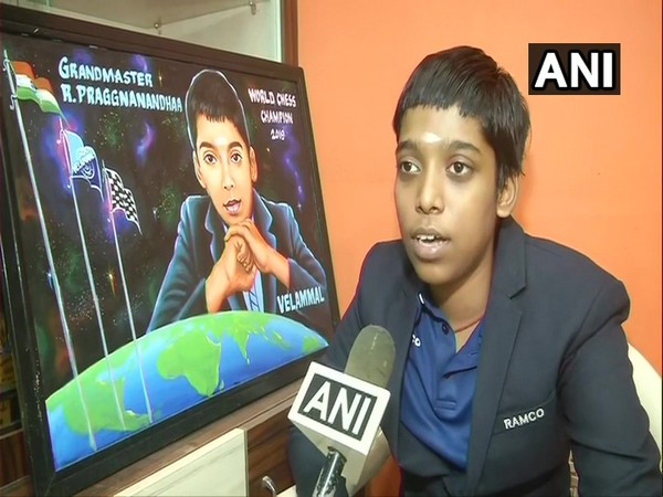 Fifteen-year-old chess player R Praggnanandhaa