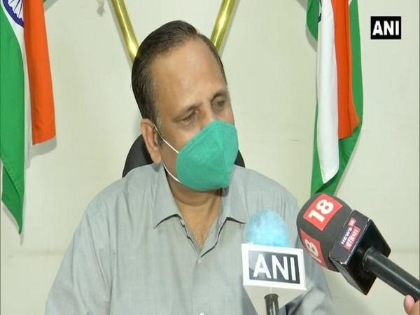Delhi Health Minister Satyendar Jain (Photo/ANI)