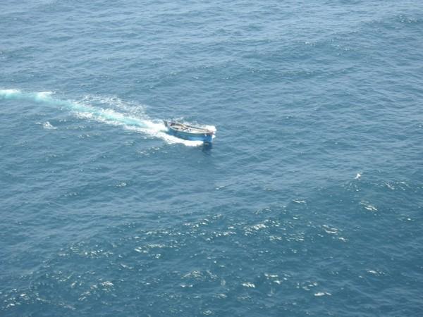 Indian Coast Guard ship Abhiraj.