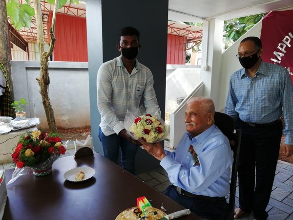 The Indian Army celebrated the 100th birthday of WW II veteran Major Lakshman Purushottam Kamath