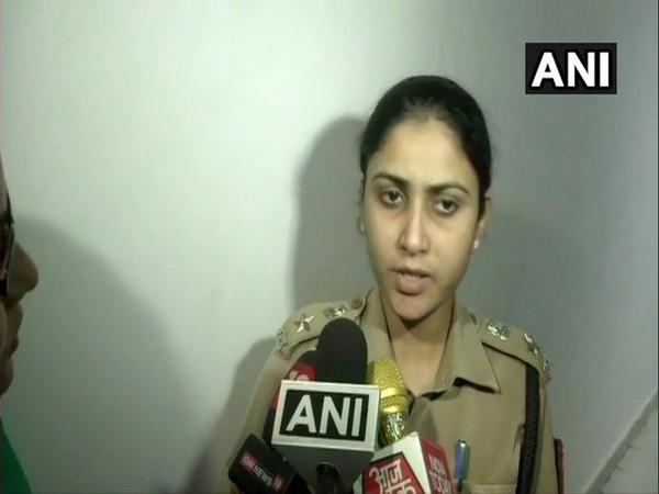 DCP (Crime) Monika Bhardwaj speaks to media on Sunday. [Photo/ANI]