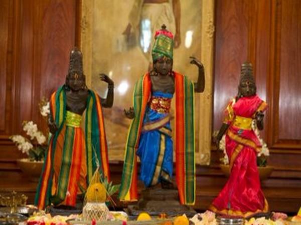Three statues of Vijayanagara period