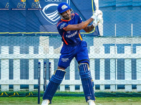 Mumbai Indians all-rounder Hardik Pandya. (Photo/ Mumbai Indians Twitter)