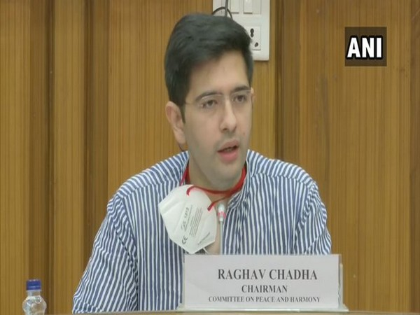 Delhi Legislative Assembly's committee on 'Peace and Harmony' chief Raghav Chadha