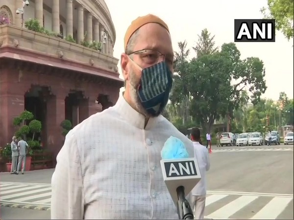AIMIM leader Asaduddin Owaisi (Photo/ANI)