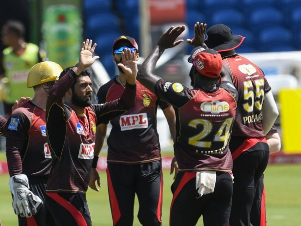 Trinbago Knight Riders extend winning streak, secure 9-wicket win over St Kitts and Nevis Patriots. (Photo/ CPL T20 Twitter)