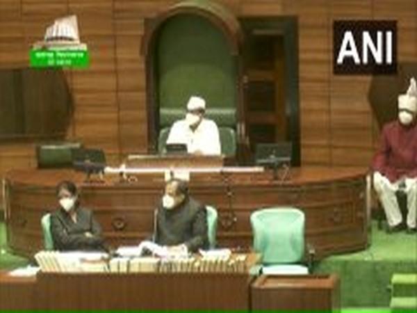 Visual from Maharashtra Assembly (Photo/ANI)