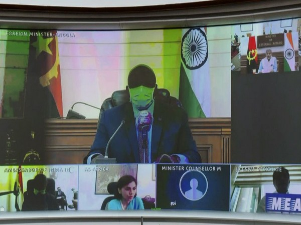 The meeting was co-chaired by External Affairs Minister S Jaishankar and his Angola counterpart Tete Antonio.