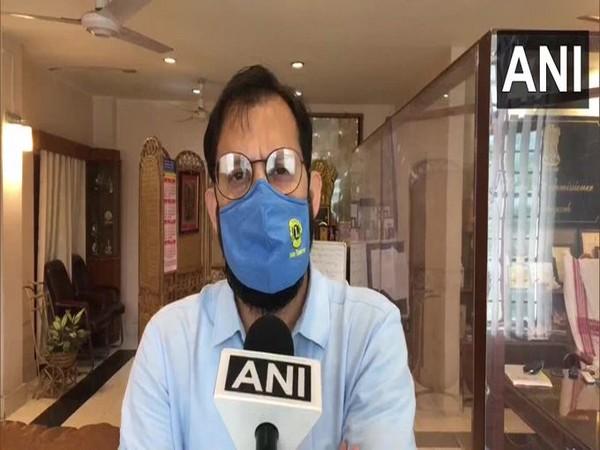 Pallav Gopal Jha, Dibrugarh Deputy Commissioner (Photo/ANI)