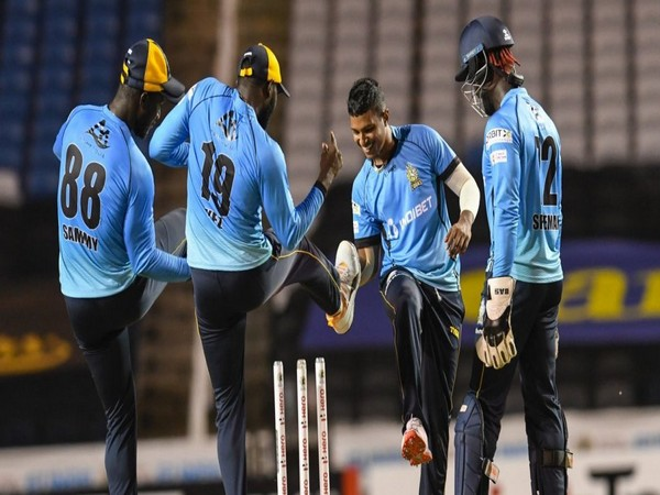 St Lucia Zouks will take on Trinbago Knight Riders in the final on Thursday. (Photo/ CPL Twitter)