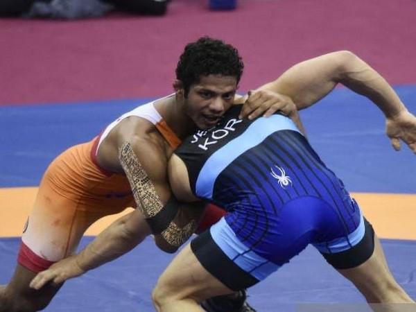 Wrestler Navin Kumar (Photo/ SAI Twitter)