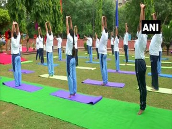 Visual from the wellness centre in Dwarka-23 (Photo/ANI)