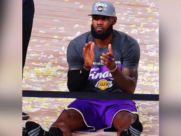 LeBron James (Photo/ Los Angeles Lakers Twitter)