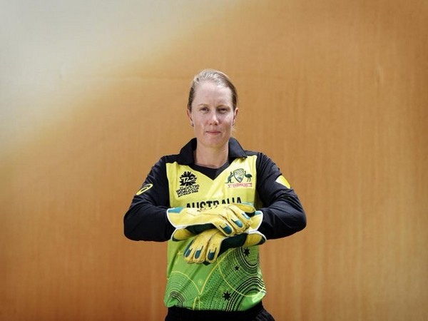 Australia's wicket-keeper batswoman Alyssa Healy (Photo/ ICC Twitter)