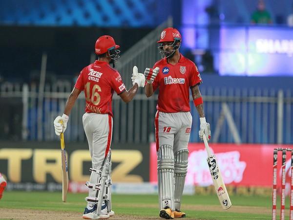 Mayank Agarwal and KL Rahul (Photo/ IPL Twitter)