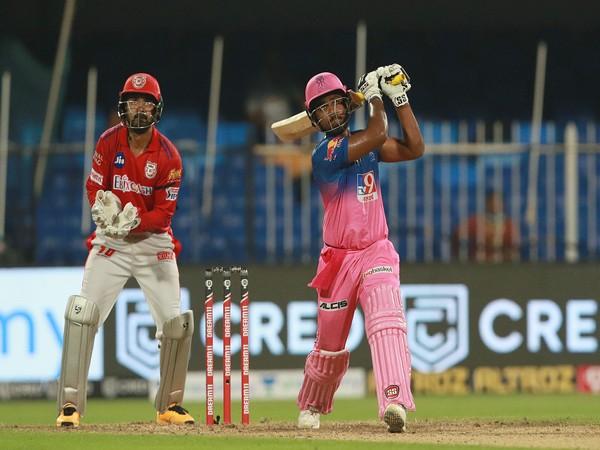 Rajasthan Royals' Sanju Samson in action (Photo/ Rajasthan Royals Twitter)