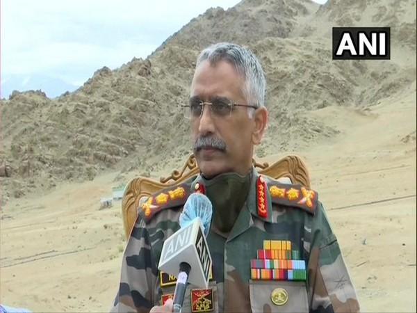 Army chief General Manoj Mukund Naravane (File Photo/ANI)