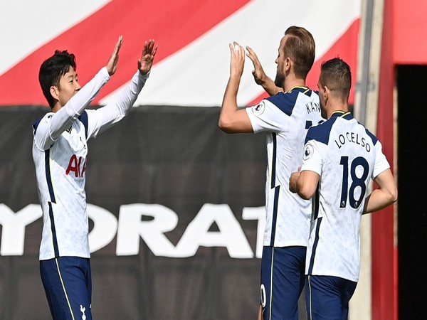 Son Heung-min strikes four goals as Tottenham thrash Southampton (Photo/ Tottenham Twitter)