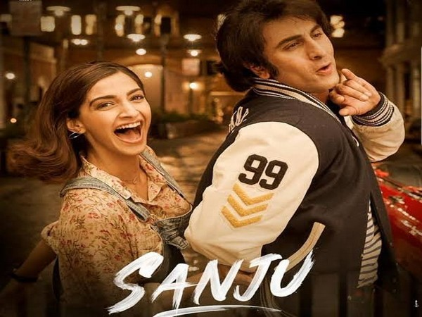 Poster of Sanju shared by Sonam Kapoor (Image courtesy: Twitter)
