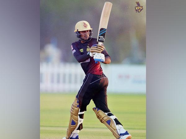 KKR batsman Shubman Gill (Photo/ KKR Twitter)