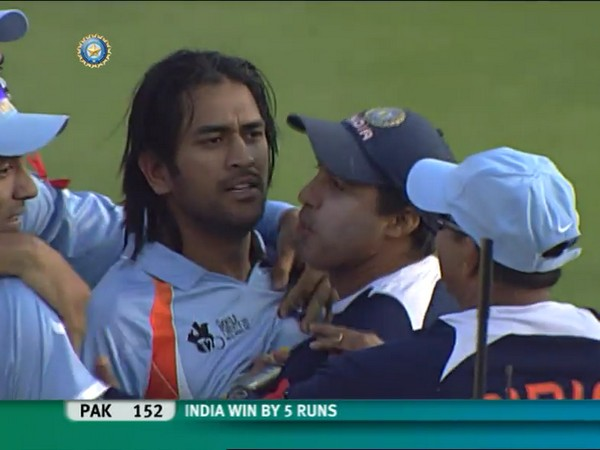 India defeated Pakistan in T20 World Cup finals 2007 (Photo/ BCCI Twitter)