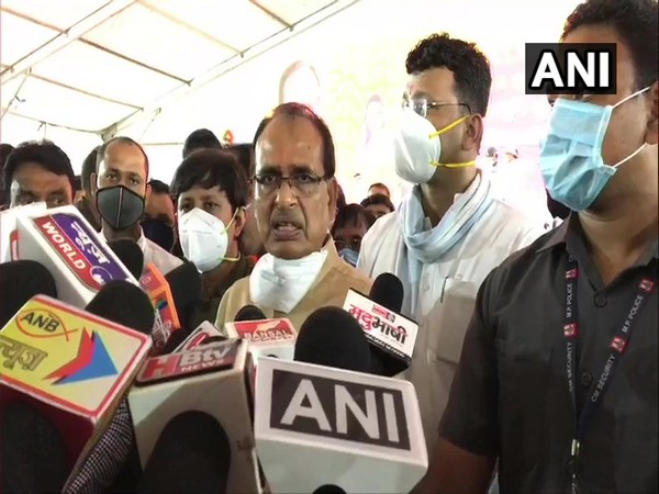 Madhya Pradesh Chief Minister Shivraj Singh Chouhan (Photo/ANI)