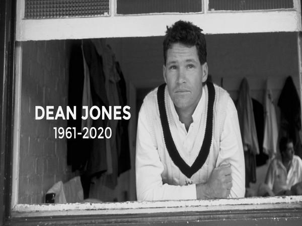 Dean Jones (Photo/ ICC Twitter)