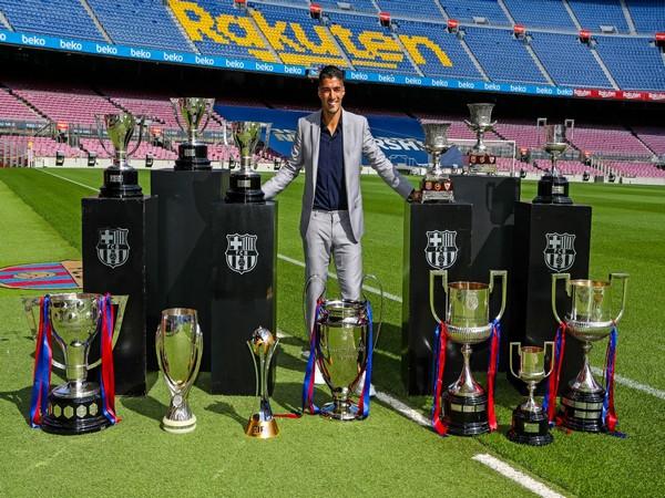 Luis Suarez (Photo/ Barcelona Twitter)