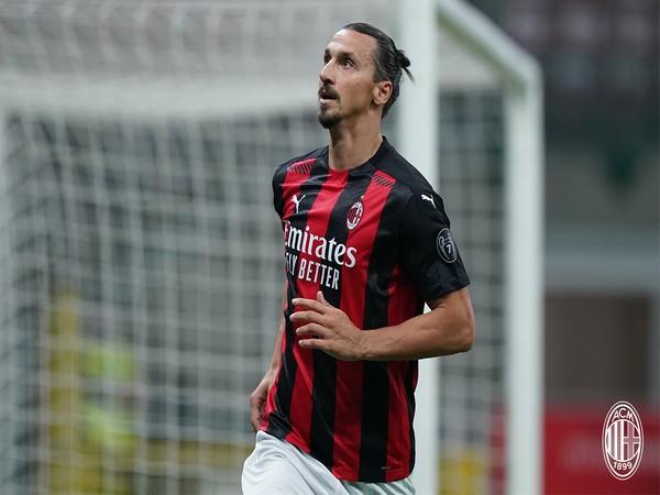 Zlatan Ibrahimovic (Photo/ AC Milan Twitter)