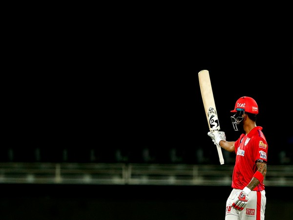 KXIP's KL Rahul (Photo/ IPL Twitter)