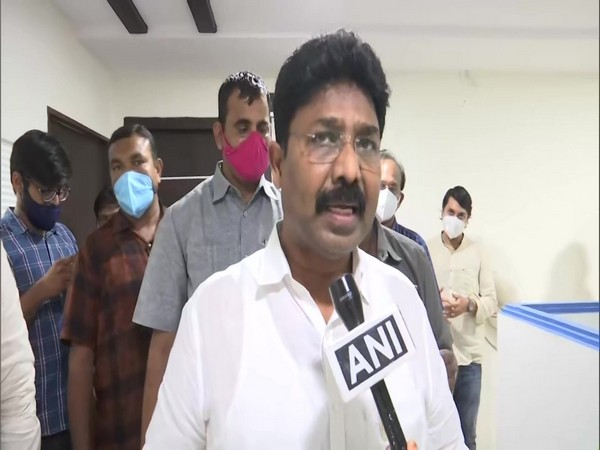 Andhra Pradesh Education Minister Adimulapu Suresh (Photo/ANI)