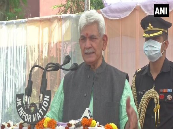 Jammu and Kashmir Lieutenant Governor Manoj Sinha (Photo/ANI)