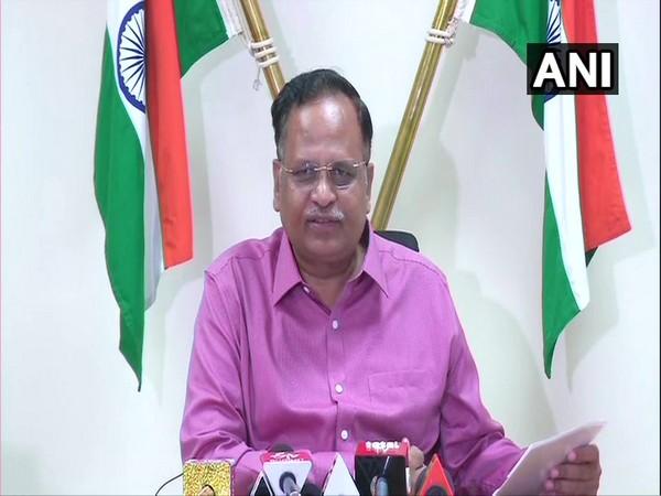 Health Minister of Delhi Satyendra Jain. (Photo/ANI)