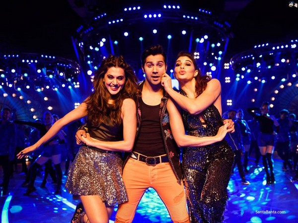 A still from 'Judwaa 2' featuring Taapsee Pannu, Varun Dhawan and Jacqueline Fernandez (Image courtesy: Instagram)