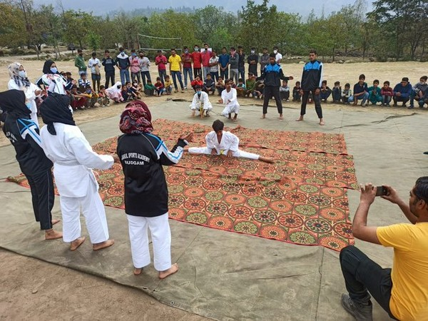 Village games in Budgam on World Heart Day.