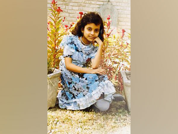 Childhood picture of actor Kangana Ranaut. (Image Source: Twitter)