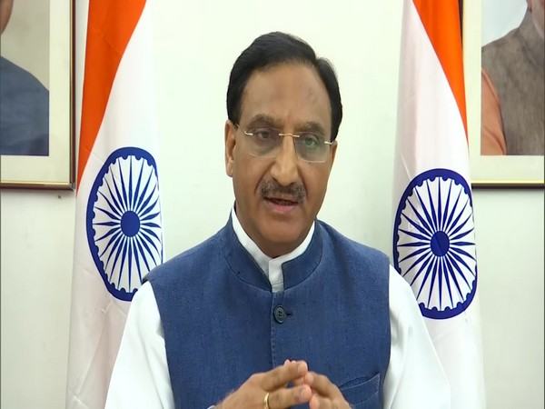 Union Education Minister Ramesh Pokhriyal Nishank. [Photo/ANI]