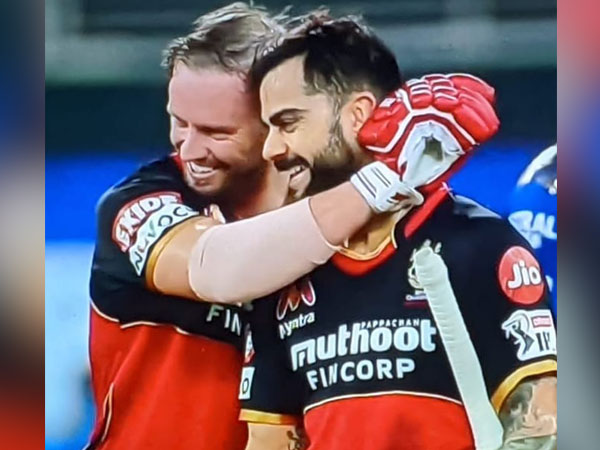 Virat Kohli with AB de Villiers (Photo/ Virat Kohli Twitter)