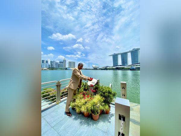 Indian High Commissioner to Singapore P Kumaran.