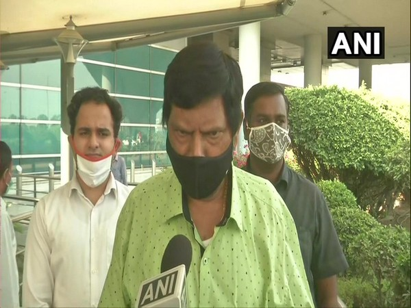 Union Minister Ramdas Athawale speaking to ANI in New Delhi on Friday. [Photo/ANI]