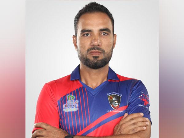 Afghanistan batsman Najeeb Tarakai. (Photo/ ACB Twitter)