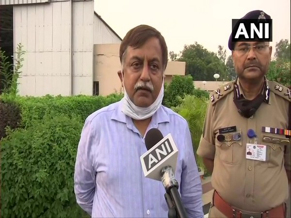 Avnish Kumar Awasthi, Additional Chief Secretary (Home), Uttar Pradesh (Photo/ANI)