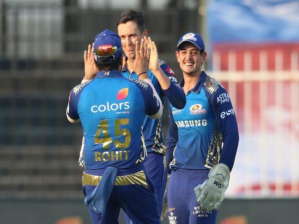 Mumbai Indians registered a 34-run win against Sunrisers Hyderabad here on Sunday. (Photo/ IPL Twitter)