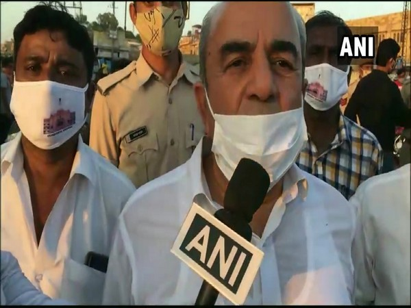 Sukhram Bishnoi, Rajasthan Forest and Environment Minister (Photo/ANI)
