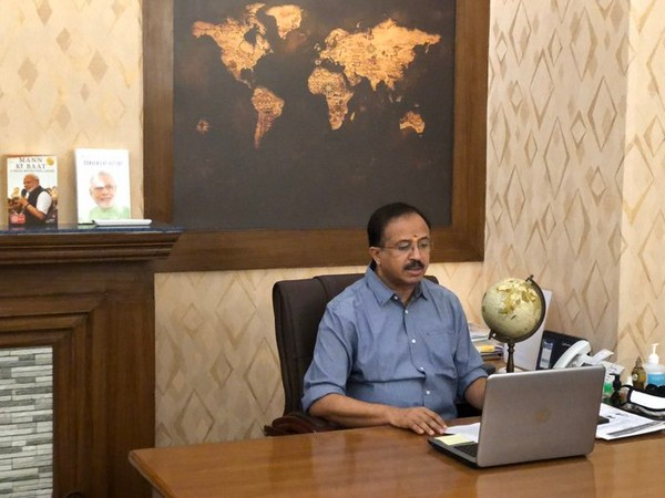 MoS for MEA V Muraleedharan speaking during a webinar titled 'India-ASEAN Relations and the Rise of Multilateralism in Indo Pacific and Beyond'