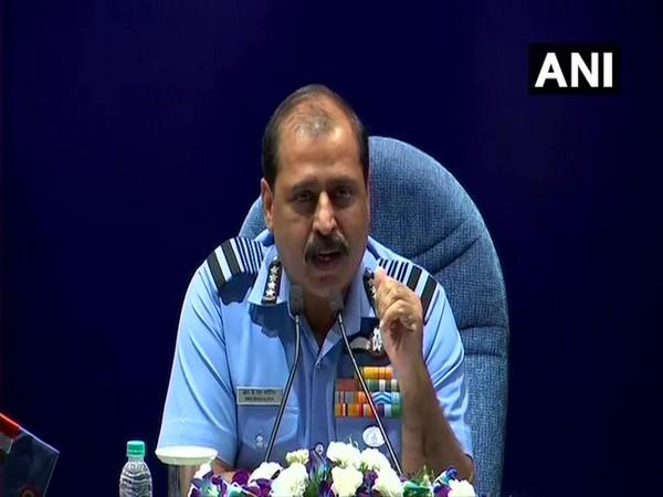 Air Chief Marshal RKS Bhadauria (Photo/ANI)