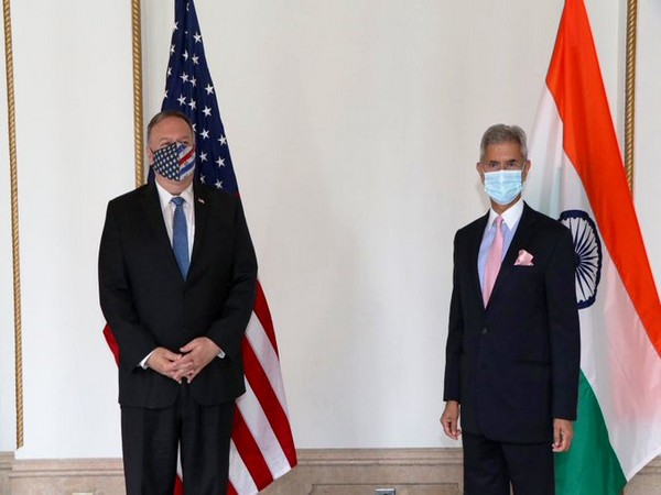 External Affairs Minister S Jaishankar on Tuesday met his American counterpart, Mike Pompeo. [Photo: Twitter/@DrSJaishankar]