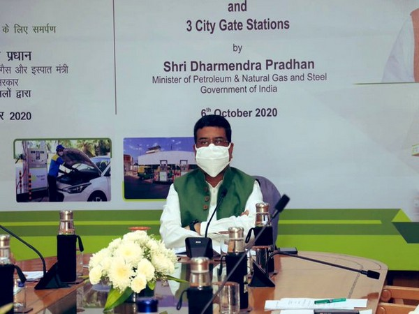 Minister of Petroleum and Natural Gas and Steel Dharmendra Pradhan (Photo/Twitter/Dharmendra Pradhan)